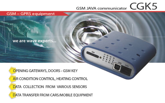 GSM JAVA communicator CGK5